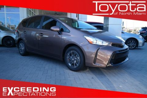 New 2017 Toyota Prius v Two FWD Wagon