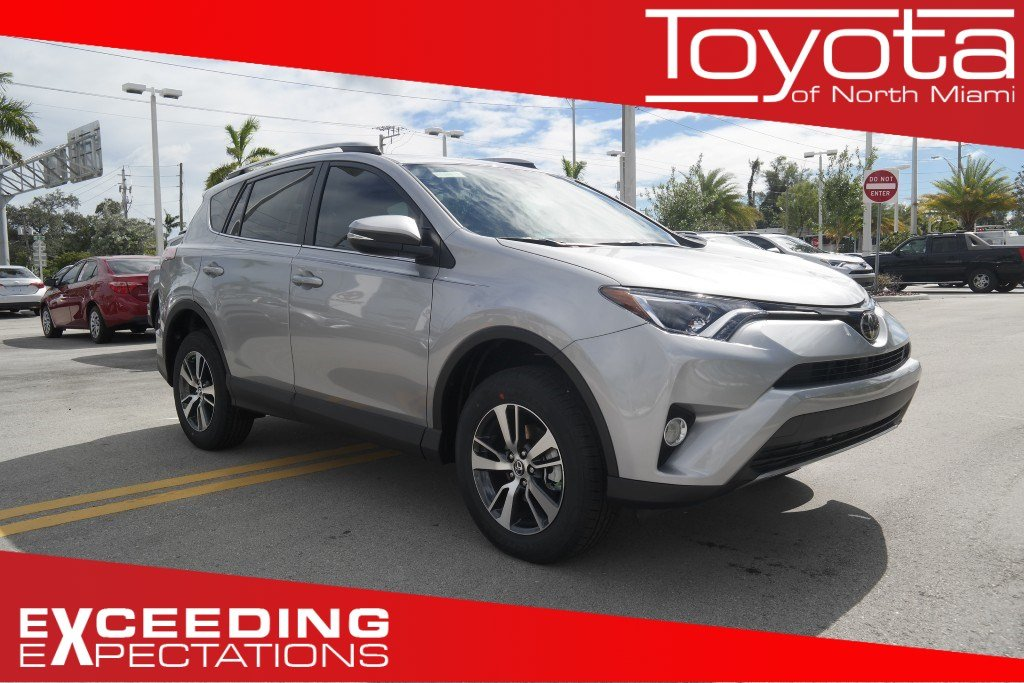new 2017 toyota rav4 xle sport utility in miami r325113 toyota of north miami. Black Bedroom Furniture Sets. Home Design Ideas