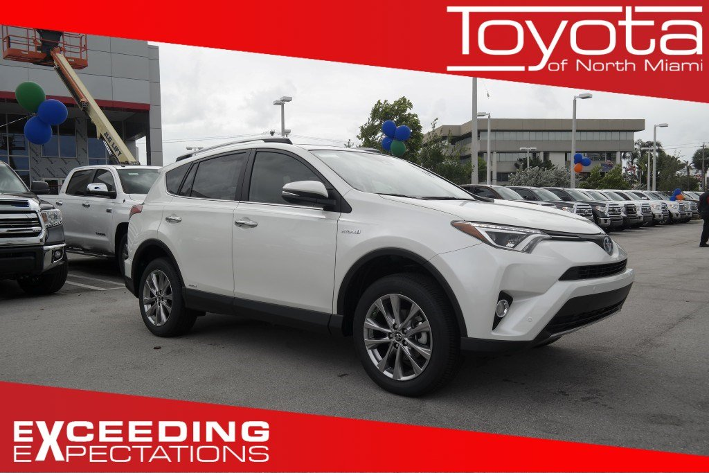 new 2017 toyota rav4 hybrid limited sport utility in miami r070359 toyota of north miami. Black Bedroom Furniture Sets. Home Design Ideas